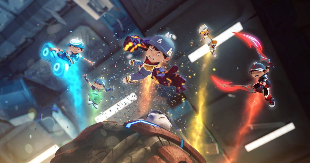 BoBoiBoy 2 Movie Rendered on Robust Fox | Robust HPC